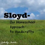 Sloyd-Our Homeschool Approach to Handicrafts